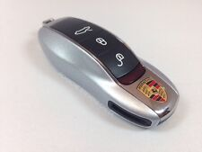 Porsche Painted Key Cap Set RHODIUM SILVER 911 Boxster Cayman Panamera Cayenne