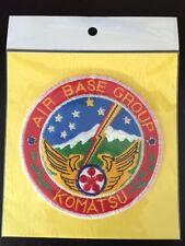 JASDF JAPAN AIR SELF DEFENSE FORCE KOMATSU AIR BASE GROUP PATCH