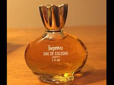 Vintage Imprevu Eau De Cologne Coty 1 Fl.oz 30ml splash fragrance women Femme
