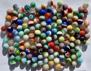 Vintage Vitro Agate Marble Lot
