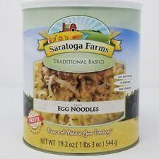 Saratoga Farms Freeze Dried Food Egg Noodles #10 Can