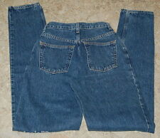 JR Womens JEANS GAP Reverse Blue Denim Size 1 Extra Long 24x36