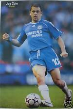 """JOE COLE """"KICKING FOOTBALL"""" POSTER FROM ASIA-CHELSEA FC"""