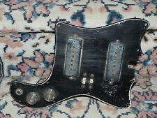 tiesco teisco kingston   pickguard vintage solidbody guitar pickup