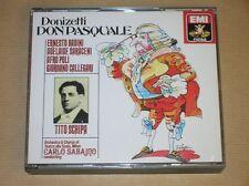 2 CD / DON PASQUALE / DONIZETTI / CARLO SABAJNO / TRES BON ETAT