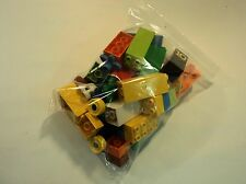 Lego Building Blocks and Accessories Multicolor Lot of 57 Plastic