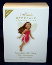 HALLMARK 2012 STARGAZER LILY FAIRY COMPLIMENTS THE FAIRY MESSENGERS SERIES