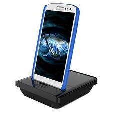 For Samsung Galaxy S III: Cradle Dock Station WITH AUDIO OUT 2nd Battery Charger