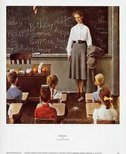 Norman Rockwell Saturday Evening Post Print Surprise