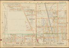 1888 MONROE COUNTY NEW YORK ROCHESTER ST. MARY'S HOSPITAL COPY PLAT ATLAS MAP