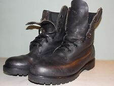 1980's Black Leather By Rocky Men's Size 11 M/W Made in Usa Used and Great Cond.
