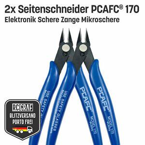 2x Seitenschneider PCAFC® 170 Elektronik Schere Mikroschere Zange Draht Kabel