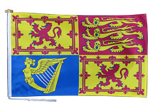 More details for scotland royal standard flag with rope and toggle - various sizes