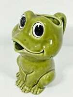Vtg Frog Pitcher Sears Roebuck And Co 1978 Neil The Frog RARE Japan ceramic