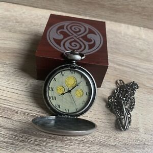 Celestial Toystore 10th Doctor Who Chameleon Arch Pocket Fob Watch Prop Replica