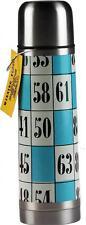 Metal Insulated Quality Thermos Flask - Lotto / Bingo Design