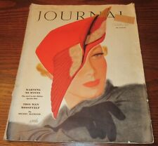 October 1936 Ladies Home Journal Interesting Factory Flaw