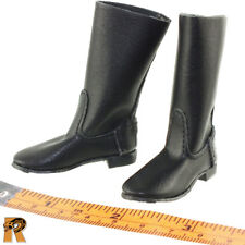 Soviet Red Navy - Leather Boots (for Feet) - 1/6 Scale Alert Line Action Figures