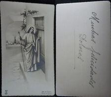ESTAMPA HOLY CARD JESUCRISTO   MIRA MAS EN MI TIENDA DE EBAY CC1580