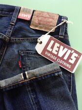 LEVIS JEANS BIG E 505 1967 SELVEDGE REDLINE LVC SIZE 28X 34 SEE DESCRIPTION BNWT