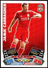 Jamie Carragher Liverpool #133 Topps Match Attax Football 2011-12 Card (C208)