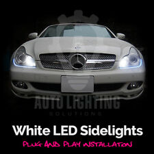 MERCEDES CLS C219 W219 Xenon DEL Blanc Side Lights sidelights Upgrade Kit