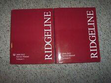 2009- 2012 Honda Ridgeline 2010 2011 RT RTS RTL Sport Service Shop Repair Manual