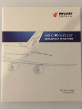 AIR CHINA AIRLINES FLEET PROFILE BROCHURE ROUTE MAP B747 B777 A330