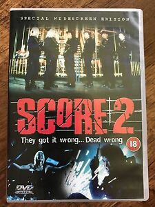 Score 2 DVD 1999 Japanese Crime / Gangster Film Movie with Hitoshi Ozawa