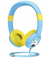 Mpow Kids Gift Headset Foldable Wired On-Ear Headphones 85Db Hearing Protection