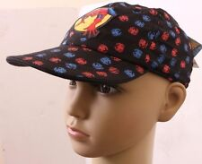 Marvel New Era The Amazing Spider-Man Kids Boys Fitted Cap Size 42 cm NWT