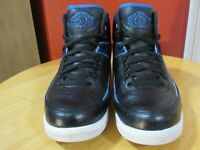 Jordan Air Retro II Radio Raheem (834274-014) Black Blue White Sneakers SIZE 8