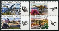 Angola 2018 Mnh Dinosaurs & Minerals Diplodocus Amethyst Quartz 4v Set Stamps