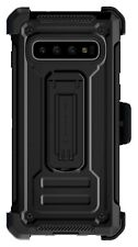 Belt Clip Galaxy S10, S10+ Plus, S10e Case with Swivel Holster and Kickstand