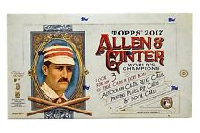2017 TOPPS ALLEN & GINTER BASEBALL HOBBY BOX FACTORY SEALED NEW