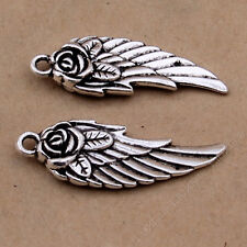 jewellery making supplies 20pc Tibetan Silver Peace Dove Olive branch Charms Jewellery Pendant Animal PJ84 Beads & Jewellelry Making Supplies