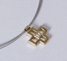 Markenlose mit Gelbgold beschichtete Modeschmuck-Halsketten