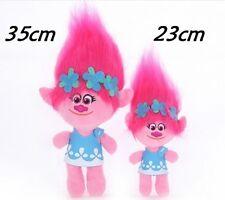 35CM  Trolls Poppy Plush Soft Toy Movie Figure Childrens Kids Girls Teddy GIFT