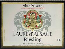 Etiquette de Vin - Alsace - Laure D'Alsace -Riesling - Réf.n°271