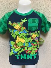 Nickelodeon Teenage Mutant Ninja Turtles Boys Tops T-Shirts Size 3T NEW