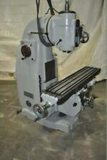 13 X59 Sajo Vertical Mill 12 Cross Travel 4 Quill Travel 18 Vertical Knee