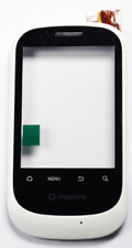 FRONT PER VODAFONE U8160 WHITE TOUCH SCREEN ORIGINALE - FRONTVODU8160C-W