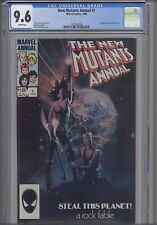 New Mutants Annual #1 CGC 9.6 Marvel: First Lila Chena 1984 Comic: New Frame