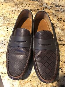 gucci mens driving shoes Size 9