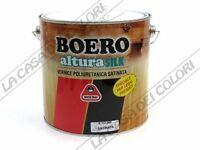 BOERO - ALTURA SILK - 2,5 lt - TINTE TINTOMETRO - VERNICE TRASPARENTE SATINATA