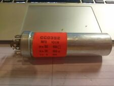 NOS Cornell Dubilier Electrolytic NOS Twist Prong Capacitor 50/20/4 450VDCW