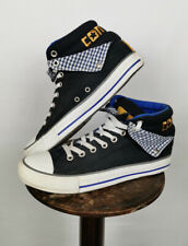 Converse Chuck Taylor All Star High Uk 9 Trainers Black Blue