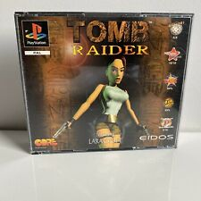 PS1 PLAYSTATION1 TOMB RAIDER DUAL CASE / BIG BOX 100% COMPLETE RARE
