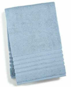 Hotel Collection Bath Towel Ultimate Micro Cotton 30 X 56 Lake Blue NEW