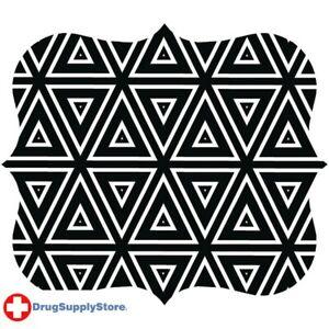 PE Designer Mouse Pad (Geometric Triangles)